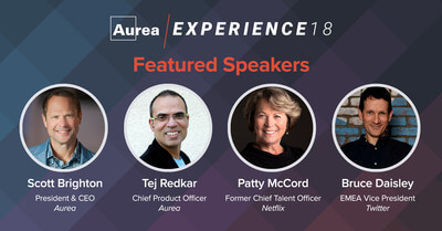 Aurea Software, a leading provider of customer and employee experience solutions, including Jive, today announced the keynote speakers for its upcoming Aurea Experience 18 conferences.